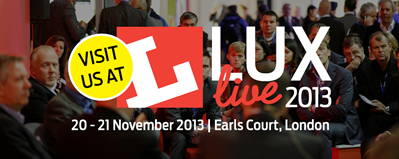 Lumenal exhibiting at Lux Live 2013