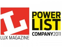"Lumenal named in Lux Magazine's Power List - ""20 to watch in 2011"""