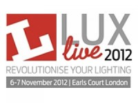 Lumenal chooses Lux Live to launches new LED retail display solutions at Lux Live 2012