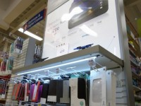 Lumenal create illuminated displays for Tesco hudl launch
